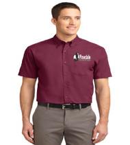 Pinedale Men's Short Sleeve Button-up