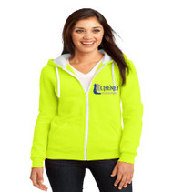 Cheney Ladies Zip-Up Hooded Sweatshirt