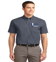 Cheney Men's Short Sleeve Button-up