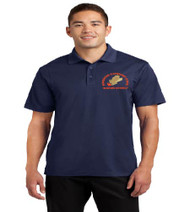 Hungerford men's dri-fit polo w/ embroidery