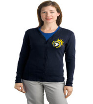 Killarney ladies cardigan w/ embroidery