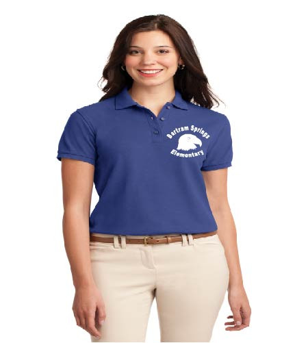 Bartram Springs ladies basic polo w/ embroidery