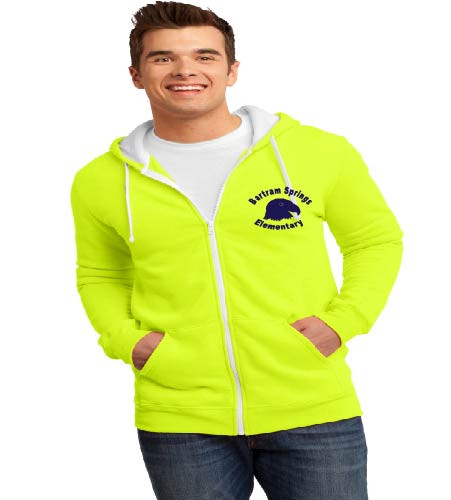 Bartram Springs men's zip-up hooded sweatshirt