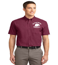 Bartram Springs men's short sleeve button-up shirt