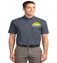 Sunridge men's short sleeve button-up