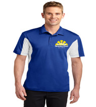 Sunridge men's color block dri fit polo