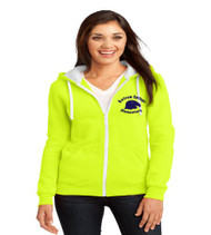 Bartram Springs ladies zip up hooded sweatshirt
