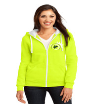 Killarney ladies zip-up hooded sweatshirt
