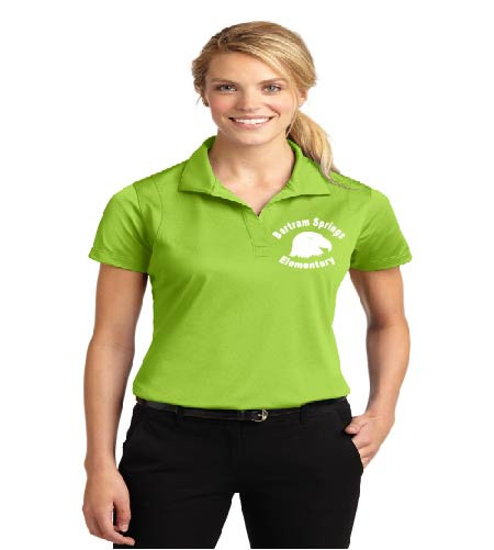 Bartram Springs ladies dri-fit polo
