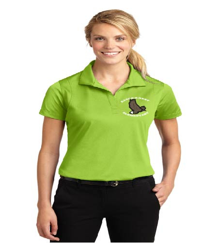 Eagle's Nest ladies dri-fit polo w/ embroidery