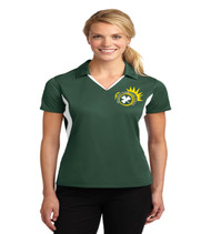 Killarney ladies color block dri-fit polo