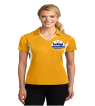 Sunridge Elementary ladies dri-fit color block polo w/ embroidery