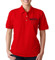 Memorial Ladies Uniform Polo w/ printed logo