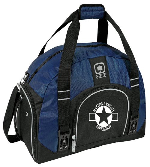 MPA Ogio dome duffle bag w/ embroidery