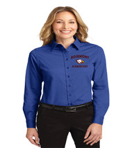 Rosemont ladies longsleeve button-up