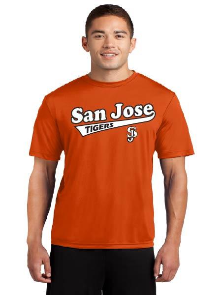 San Jose Tigers Adult Dri-Fit Shirt
