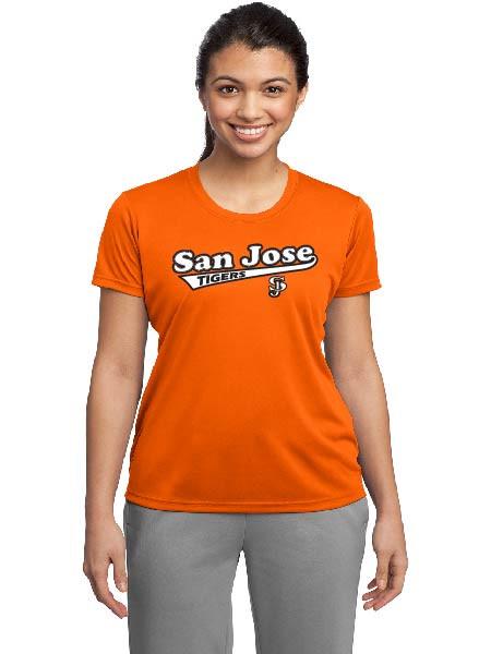 San Jose Tigers ladies dri fit shirt