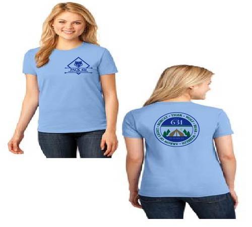 Pack 631 Ladies t-shirt