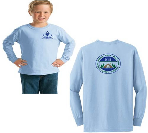 Pack 631 Youth long sleeve t-shirt