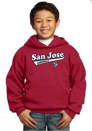 San Jose Cardinals youth hoodie