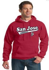San Jose Cardinals adult hoodie