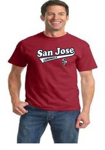 San Jose Cardinals men's t-shirt