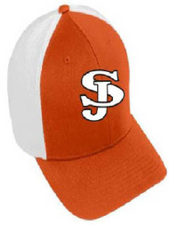San Jose tigers color block flex fit hat