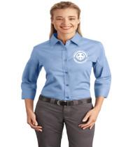 Shingle Creek Ladies 3/4 sleeve button-up