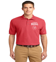 Memorial men's basic polo
