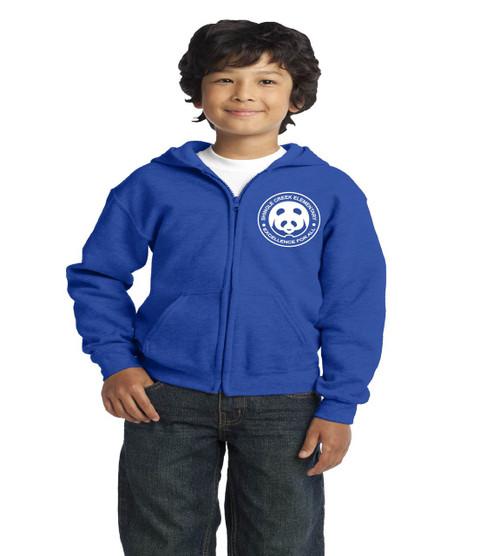 Shingle Creek youth zip-up hooded sweatshirt