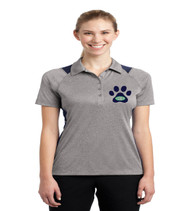 Eagle Creek ladies color block polo