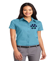 Eagle Creek ladies short sleeve button-up