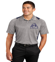 Oakshire men's color block polo