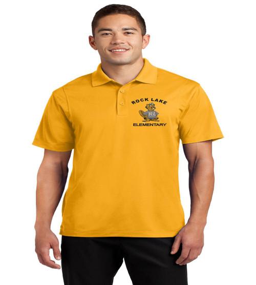 Rock Lake men's dri fit polo