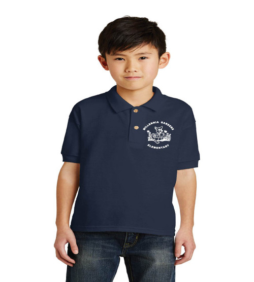 Millennia Gardens youth uniform polo