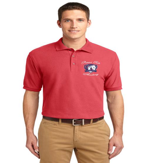 Patriot Oaks men's basic polo