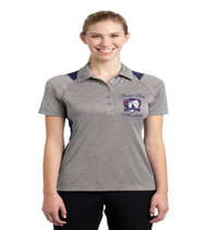 Patriot Oaks ladies color block dri fit polo