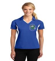 Waterbridge ladies color block dri fit polo
