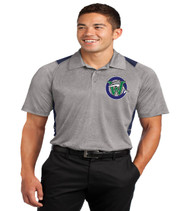 Waterbridge color block men's dri fit polo