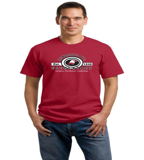 Hendricks Ave adult spirit shirt