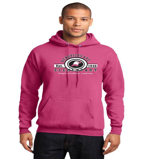 Hendricks Ave adult hoodie