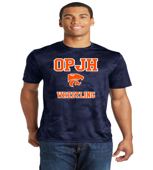 OPJH Camo-Hex dri fit tee