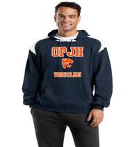 OPJH Wrestling navy/white hoodie