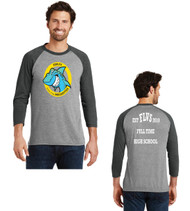 Fla virtual men's raglan