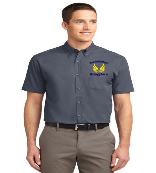 Sunridge Middle men's short sleeve button up