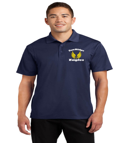 Sunridge middle men's dri fit polo