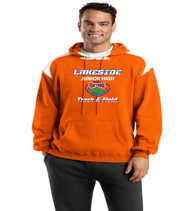 lakeside track mens color block hood
