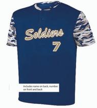 UCAA baseball jersey