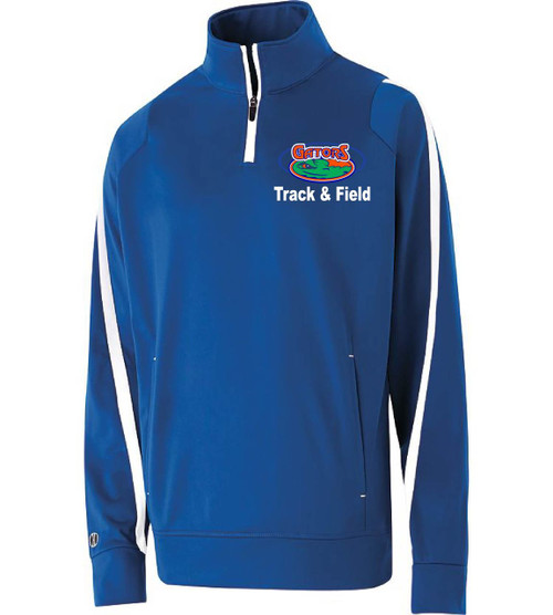 Lakeside track 1/4 zip jacket