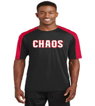 Chaos Baseball Competitor Sleeve Blocked Dri-Fit Shirt